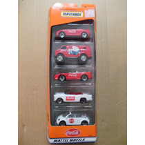 Miniatura Coca Cola Matchbox 10 Carrinhos