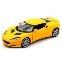Lotus Evora S Ips 1:24 Bburago Amarelo