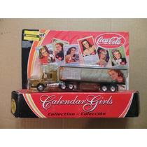 Miniatura Coca Cola Matchbox - Caminhão Calendar Girls