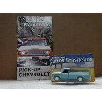 Pickup Chevrolet - Carros Brasileiros 1:43 - Revista