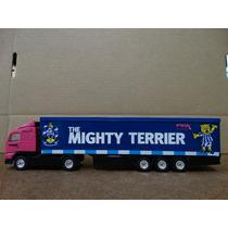 Caminhão Volvo The Mighty Terrier - Corgi - Carreta