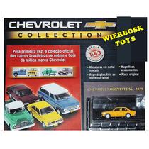 Coleção Chevrolet Salvat - Chevette Sl Tubarão Amarelo 1979