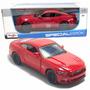 Miniatura 2015 Ford Mustang Gt Vermelho 1:18 Maisto