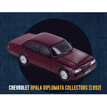 Kit 3 Miniaturas Opala Diplomata Colectors 1992