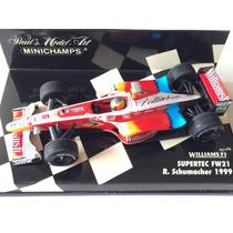 Minichamps 1/43 Williams Fw21 Ralf Schumacher F1 1999 Senna