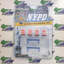 Peças Para Diorama New York Police Multipack Greenlight
