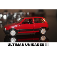 Miniatura Carros Do Brasil Fiat Uno 1988-o Mais Barato Do Ml