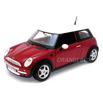 Mini Cooper 1:24 Maisto 31219-vermelho