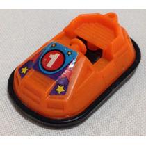 Carrinho Plástico Duro Antigo Miniatura 4cm
