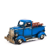 Miniatura Caminhonete Antiga - Azul