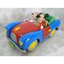 C819 - Carro Mickey E Minnie Motorama Disney - 1:24