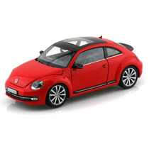 1/24 Novo Fusca Beetle Welly 24032 Red Miniatura Vw Volks