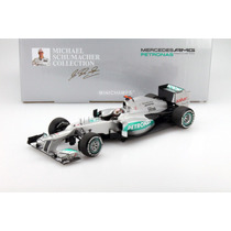 1:18 M. Schumacher Mercedes F1 W03 300th Gp Belgica Formula