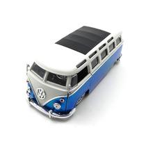 Volkswagen Kombi Bus Van 1962 Azul 1:24 Jada Toys #jad91693