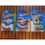 Hot Wheels 3 Minis Scooby Fusca Herbie Delorean Time Michine