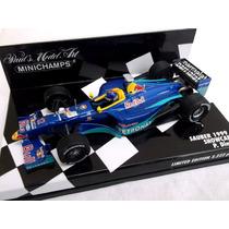 Minichamps 1/43 Sauber C18 Diniz F1 1999 # Senna Pedro Paulo