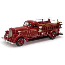 Caminhão American Lafrance 1939 B-550rc 1:43 Yat Ming 43007