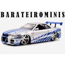 1:24 Jada Nissan Skyline Gt-r R34 - Fast & Furious - Brian