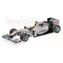 2010 Mercedes-benz Gp Petronas Mgp W01 - Rosberg - 1:18