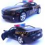 Carrinho Carro Ferro Camaro Miniatura 1/32 Policia Federal