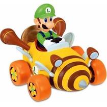 Carrinho Miniatura De Fricção Mario Kart Dtc 3529 Luigi