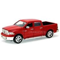 Dodge Ram 1500 2014 Jada Toys 1:24 54039-vermelho