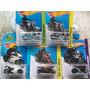 Lote 4 Hot Wheels Ducati Panigale Bmw K1300r Harley-davidson