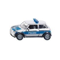 Toy Carro De Polícia - Siku Mini Cooper Veículo Modelo Rep