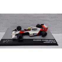 Lendas Brasileiras 19 Mclaren Mp4/5 Ayrton Senna Gp 1989
