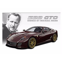 Miniatura Ferrari 599 Gto Michael Mann 1:18 Hot Wheels Elite