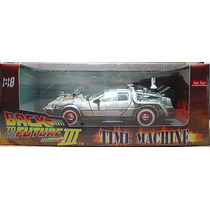 Tk0 Car Sunstar 1:18 Back To The Future 3 Delorean Time Mach