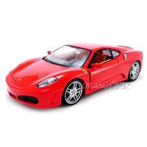 Kit Para Montar Ferrari F430 1:24 Maisto 39259-vermelho