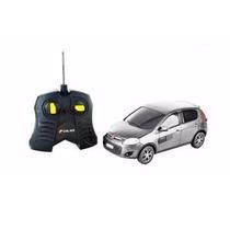 Carro R/c Fiat Novo Palio Sporting Prata 1:18 Cks Toys