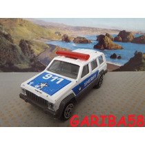 Majorette Jeep Cherokee Sheriff Única!!! Gariba58