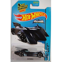 Hot Wheeels - Batmovel Azul - 63/250 - 2015 - Lacrada