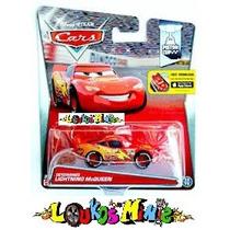 Disney Cars Determined Mcqueen Lacrado Original Mattel