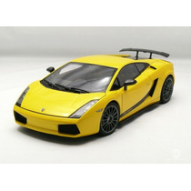 1:18 Autoart Lamborghini Gallardo Superleggera Amarelo