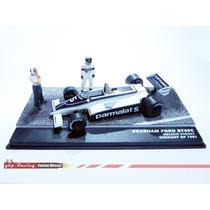 Carro + Diorama Grid Piquet - Brabham 1981 - Lendas F1