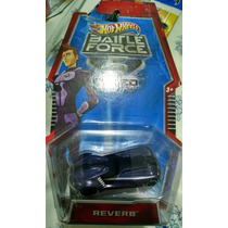 Hot Wheels Battle Force 5 Fused - Reverb Roxo