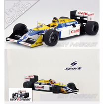 1/18 Williams Honda Fw11b Nelson Piquet Tri Campeão F1 1987