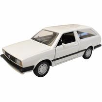 Miniatura Carro Classicos Nacionais Metal Vw Parati 11cm