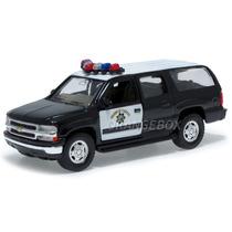 Chevrolet Suburban 2001 Highway Patrol Welly 42312-patrol