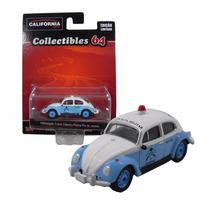 Volkswagen Fusca Classico Policia Rio De Janeiro 1/64