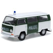 Kombi T2 Bus 1972 1:36 Welly Polícia Alemanha 42347-polizei