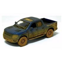 Miniatura Ford F150 Raptor Svt Enlameado 1:46 Kinsmart