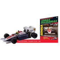 Lendas F1 1:43 #05 Ayrton Senna - Toleman Tg184 (1984)