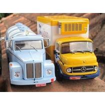 Caminhões Brasileiros Kibon + Scania ( Edições 1 E 2) Altaya