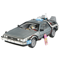 Dmc Delorean Back To The Future Time M 1:18 Hot Wheels Elite