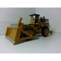 Miniatura Trator Construction Rodas E Pá 1:60 Power Die-cast