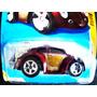 Hot Wheels 2010 Volkswagen Beetle Não $uper - Vinho